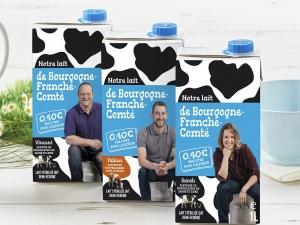 lait solidaire Producteur lait UHT Bourgogne - Notre Lait Bourgogne Franche Comté