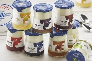 yaourt bi couches aux fruits